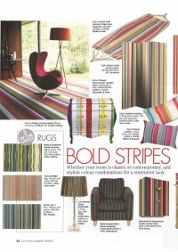 ARTHOUSE Bright Stripe 3 Panel Screen