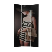 Hats 3 Panel Canvas Screen – PREMIER COLLECTION