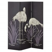 ARTHOUSE Lagoon Black 3 Panel Screen