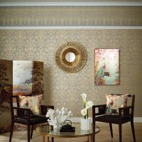 Kyasha Gold 3 Panel Screen – Arthouse