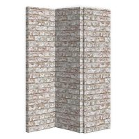 ARTHOUSE Rustic Brick 3 Panel Screen